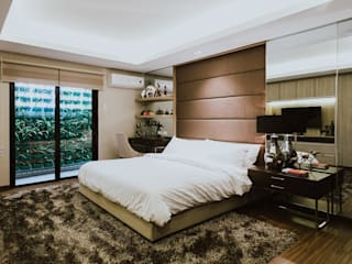 MG House Modern style bedroom by Living Innovations Design Unlimited, Inc. Modern
