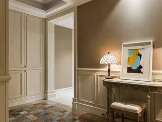 辰林設計 Country style living room Brown