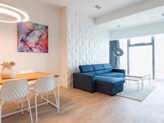 VIVINO 现代客厅設計點子、靈感 & 圖片 White