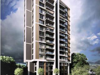 Muhit Mimarlık – Ziya Bey Apartmanı:  tarz Apartman
