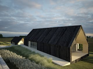 New Modern Barn House de Raw Studio Engineering