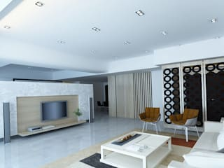 project-3002 Modern Living Room by YU SPACE DESIGN Modern