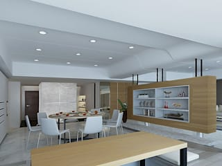 project-3002 Modern Dining Room by YU SPACE DESIGN Modern