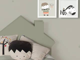 Cabezal de cama infantil de Laluilolo Escandinavo