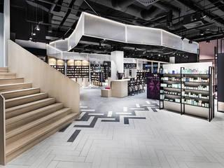 Mußler Beauty by Notino Ausgefallene Geschäftsräume & Stores von DITTEL ARCHITEKTEN GMBH Ausgefallen