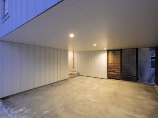 一級建築士事務所 Atelier Casa Garage/Rimessa in stile scandinavo