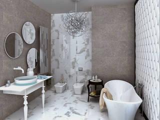 """Квартира, ЖК """"Итальянский квартал"""" Ванная комната в стиле модерн от ID project Модерн"""