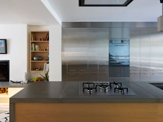 The Landscape House: modern Kitchen by Space Group Architects