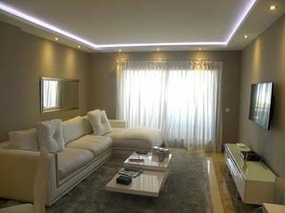 Salas / recibidores de estilo  por Cristina Lobo, Moderno