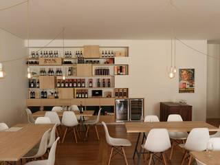 Centro de Visitas caves Vinho Lojas e Espaços comerciais minimalistas por António Mota, Susana Machado - Arquitectos, Lda Minimalista