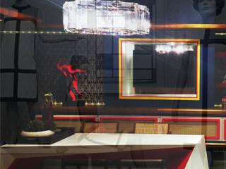 CASACOR SP interior Espaços comerciais modernos por Lopes de Moura Studios Moderno