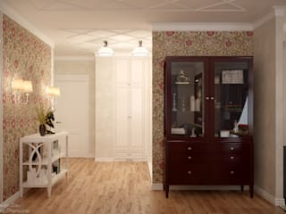 Classic style corridor, hallway and stairs by Студия интерьерного дизайна happy.design Classic