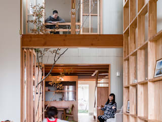 melt: 建築設計事務所SAI工房が手掛けたリビングです。