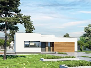 de FHS Casas Prefabricadas Moderno