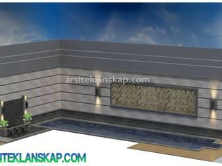 Desain Kolam Koi Minimalis:   by Arsitek Lanskap