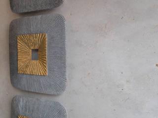 Sebastian Kopp Malermanufaktur Ruang Keluarga Modern Batu Grey