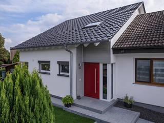 KitzlingerHaus GmbH & Co. KG Dom prefabrykowany Deski kompozytowe Biały