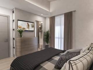 dal letto padronale: Camera da letto in stile  di studiosagitair