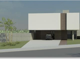 Projeto Estrutural em Concreto/Betão Armado de Residência por VITOR DACOL
