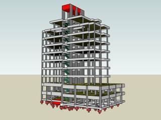 Edifício em Betão Armado por VITOR DACOL