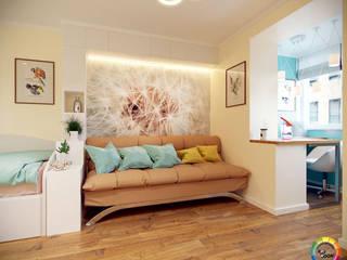 Подростковая комната для девочки Детская комнатa в стиле минимализм от Студия Дизайна Интерьера ART ROOM Минимализм