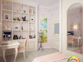Комната маленькой принцессы Детская комнатa в классическом стиле от Студия Дизайна Интерьера ART ROOM Классический