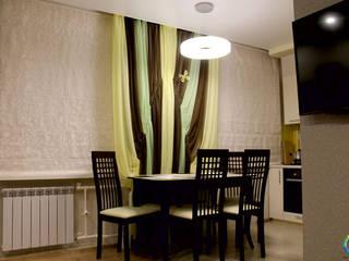 Трехкомнатная квартира в современном стиле Гостиная в стиле модерн от Студия Дизайна Интерьера ART ROOM Модерн