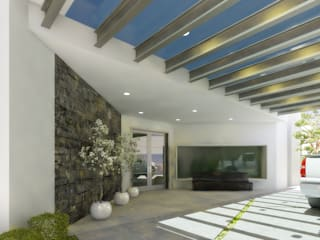 Modern houses by arquitecto9.com Modern