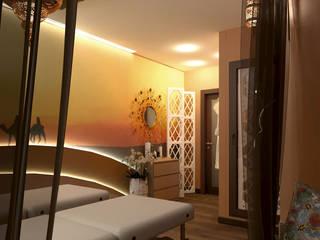 Восточная комната SPA-салона в центре Казани: Медиа комнаты в . Автор – Студия Дизайна Интерьера ART ROOM