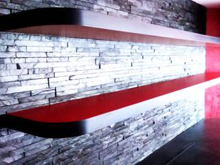 Bar zigzague - Palaiseau par DE STYL Moderne