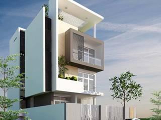 Nhà Phố Q2:  Biệt thự by thiết kế kiến trúc CEEB