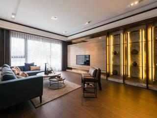 Living room by 辰林設計, Modern