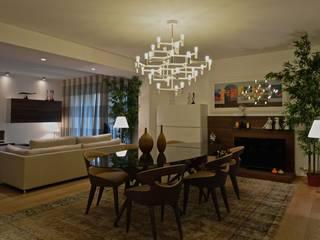 Appartamento M Signum Contract Sala da pranzo moderna