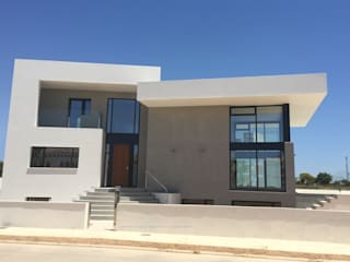 Modern Houses by DYOV STUDIO Arquitectura. Concepto Passivhaus Mediterráneo. 653773806 Modern