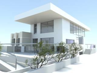 DYOV STUDIO Arquitectura. Concepto Passivhaus Mediterráneo. 653773806 Casa di campagna Viola/Ciclamino