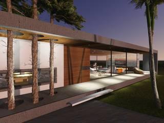 Vivienda en Causana : Casas de estilo  por Estudio A+I,Moderno