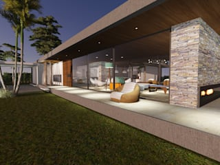 Vivienda en Causana : Casas unifamiliares de estilo  por Estudio A+I,Moderno