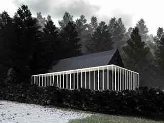 Villa am Waldwinkel: klassische Häuser von Atelier Lüps