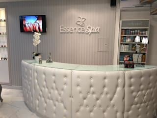 Essence Spa Oficinas y comercios de estilo moderno de GMV ESTUDIO Moderno