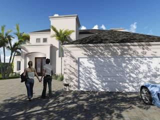 Proyecto Vivienda EG - Siete Soles Heredades: Casas unifamiliares de estilo  por Estudio A+I,Clásico