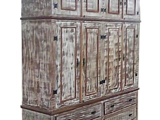 Barrocarte BedroomWardrobes & closets Solid Wood Wood effect