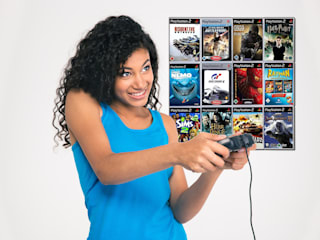 Regal für PS2 PlayStation Spiele:   von CD-Wall