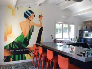 Fresque chez un particulier par Solutions Créatives Scandinave