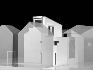 日野の住宅(unbuild): 山下大輔建築設計事務所が手掛けた現代のです。,モダン