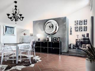Mansarda GI Cucina moderna di km 429 architettura Moderno