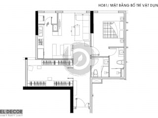 Project: HO1681Apartment/ Bel Decor bởi Bel Decor