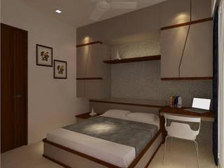 Dormitorios de estilo  de New Space Interior