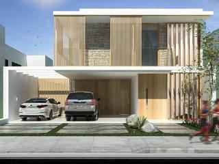 من Isabela Notaro Arquitetura e Interiores حداثي