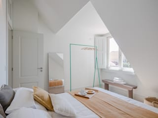 Pedro Ferreira Architecture Studio Lda Cuartos de estilo minimalista