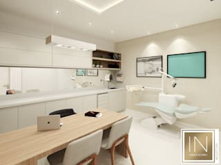 Minimalist clinics by Isabela Notaro Arquitetura e Interiores Minimalist